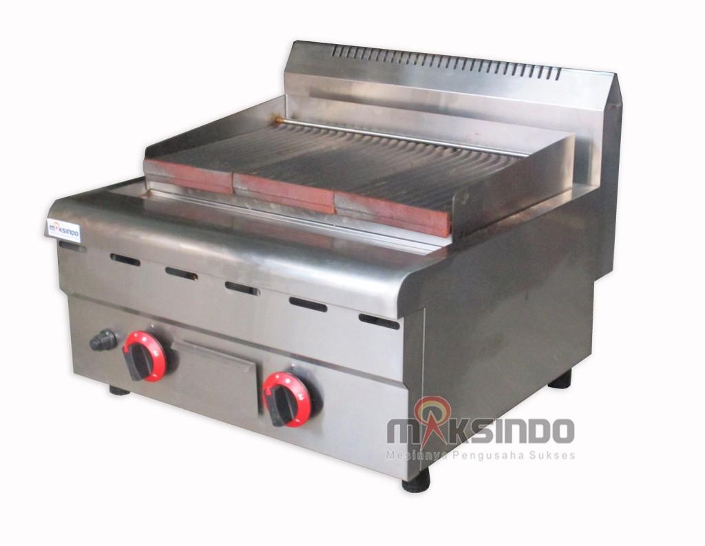 17 versi 31 1024x793 Counter Top Gas Lava Rock Grill MKS 603GL